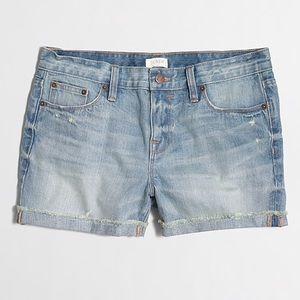 "J. Crew Factory 3"" Denim Shorts size 24"